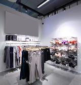 Neue innere des Stoff-Shop — Stockfoto