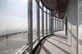 Interior de concreto bruto na parte superior do dubai — Fotografia Stock
