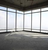 Raw concrete interior at the top of dubai — Stock Photo
