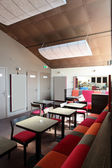 European restaurant in bright colors — Stockfoto