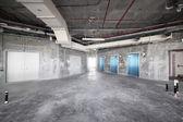 Surowe wnętrza betonu w górnej części Dubaju — Zdjęcie stockowe