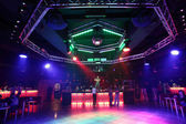 Beautiful european night club interior — Foto de Stock