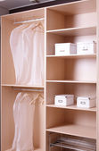 Nice interior of bright cloakroom — Stock Photo