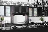 İç modern avrupa mutfağı — Stok fotoğraf
