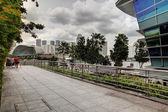 Singapore cityscape at daytime — Stock Photo