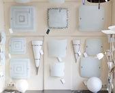 Nuevo interior de lámparas modernas — Foto de Stock