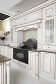 Interior of modern european kitchen — ストック写真