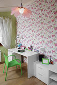 Colourful interior of children room — Stock Photo