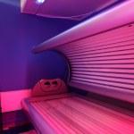 Interior of bright european solarium — Stock Photo #49745839