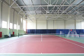 Interior of sport tennis club — 图库照片