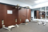 Modern european sport gym without people — Stockfoto