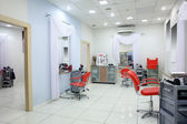 Interior of modern beauty salon — 图库照片
