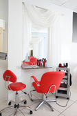 Interior of modern beauty salon — Stockfoto