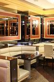 Beautiful european night club interior — Stock Photo