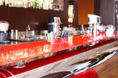 European restaurant in bright colors — ストック写真