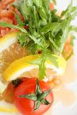 Freddo e gustosa insalata europeo — Foto Stock