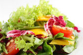 Cold and tasty european salad — Stock Photo