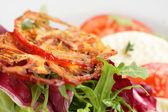 Cold and tasty european salad — Stockfoto