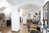 Interior del moderno salón de belleza — Foto de Stock