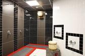Belső a modern európai zuhany — Fotografia Stock