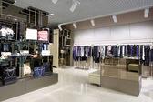 Brand new interior of cloth store — Foto de Stock