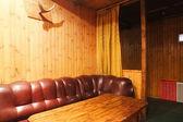 Luminosos interiores de sala de estar — Fotografia Stock