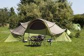 Camping — Foto Stock