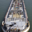 Tanker from above — Stock Photo