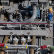 Pipes in a ship — Stock Photo