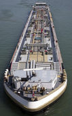 Tanker from above — Stock fotografie