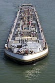 Ships on the rhine — Stock Photo