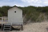 Пляжный домик — Стоковое фото