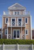 деревянный дом — Стоковое фото