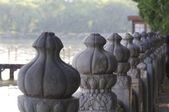 Architecture of summer palace in Beijing — Stock Photo