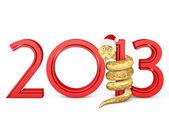 2013 Snake — Stock Photo
