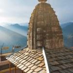 Постер, плакат: Bhimakali Temple Mountain Range Landscape V