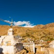 Stupa Nako Spiti Valley Buddhist Village India — Stock Photo