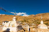 Stupa Nako Spiti Valley Buddhist Village India — Stock Photo