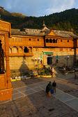 Bhimakali ombre de Microsoft temple courtyard sarahan — Photo