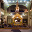 Stock Photo: Paonta Sahib Gurudwara Service Interior
