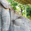 Stock Photo: Covered Standing Reclining BuddhPolonnaruwa