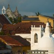 Stock Photo: ChristiChurch Buddhist Temple Galle Cityscape