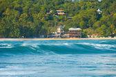 Rear Wave Hotels Unawatuna Surf Spot Sri Lanka — Stock Photo