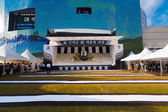 Stage Memorial Kim Dae Jung Seoul City Hall Empty — Stock Photo