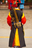 Deoksugung Palace Back Changing Of The Guards — Stock Photo