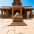 Stock Photo: Courtyard Front Stone Sri KrishnTemple Hampi