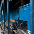 Toy Train Engine Shed Darjeeling India Railyway — 图库照片