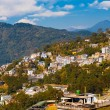 Stock Photo: Gangtok Buildings Hillside Landscape Hill Station