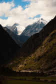 Snowcapped Mountain Peaks G318 Highway Tibet — Stock Photo