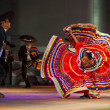 Jalisco Mexican Folkloric Dance Dress Spread Red — Stock Photo #40060137